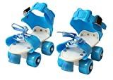 Civil Adjustable Roller Skating Shoes Front Brakes Kids Skates, Foot Size 5-9 Uk
