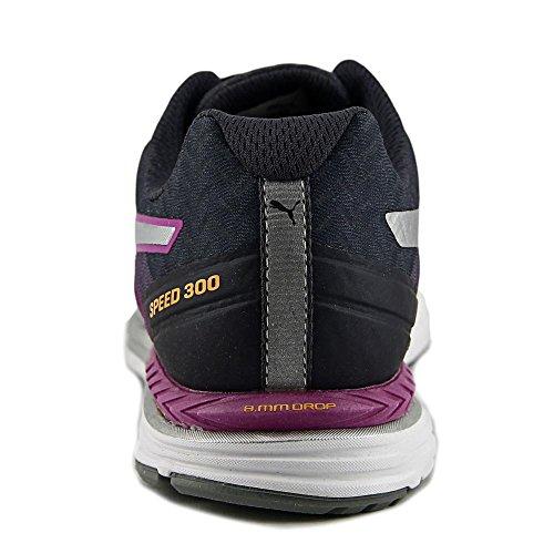 Puma Speed 300 Ignite Synthétique Baskets Purple-Periscope-Silver