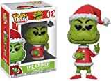 Funko - Books: the Grinch POP Vinile Figura Santa, 9 cm, 21745, Colori Assortiti