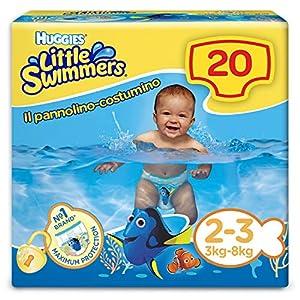 Huggies Little Swimmers Schwimmwindeln, Gr.2/3(3 – 8kg), 1Packung mit 20Stück