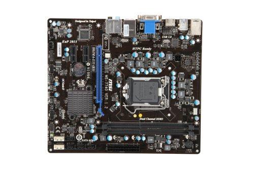 ocket1155 DDR3 mATX Intel H61 max 16GB 2xDDR3 1600 OC /1333/1066 ()