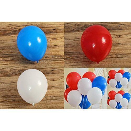*NUOLUX 100pcs 12 pouces Latex Ballons pour Anniversaire Mariage Noel Party Decoration Offre de prix