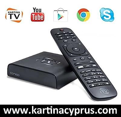 Comigo Quattro IPTV Box für KartinaTV + 3-Tage Abo russische TV