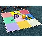 Puzzle/Rompecabezas para cubrir el suelo (9 piezas) - Play Mat Set - Material espuma