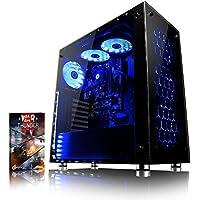 VIBOX Nebula GSR560-16 Gaming PC Ordenador de sobremesa con Cupón de juego (3,7GHz AMD Ryzen Quad-Core Procesador, Nvidia GeForce GTX 1060 Tarjeta Grafica, 16GB DDR4 RAM, 1TB HDD, Sin OS)