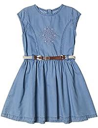 Esprit Kids Frisette, Robe Fille, Blue Light Wash 415