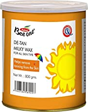 Beeone De-Tan Milky Wax, 800gm (MW-DT800)