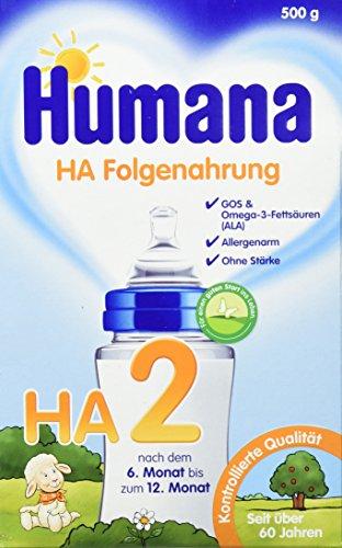 Humana HA 2 GOS, 1er Pack (1 x 0.5 kg) (Prebiotische Ballaststoffe)