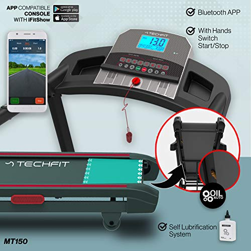 Zoom IMG-2 techfit mt150 tapis roulant professionale