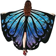 Hot !!! Schmetterlings Flügel Schal SHOBDW Frauen Schmetterlingsflügel Schal Schals Damen Nymphe Pixie Poncho Kostüm Zubehör