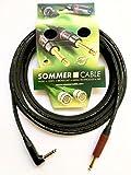 Sommer Cable, Cable Instrument SC Spirit LLX 'Low Loss' équipé Jack NP2RX-BAG / NP2X-AU-SILENT Neutrik (3m)