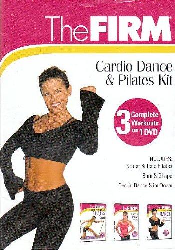The Firm Cardio Dance & Pilates Kit, 3 Complete Workouts on 1 DVD, includes Sculpt & Tone Pilates, Burn & Shape, Cardio Dance Slim Down - Firma Kit
