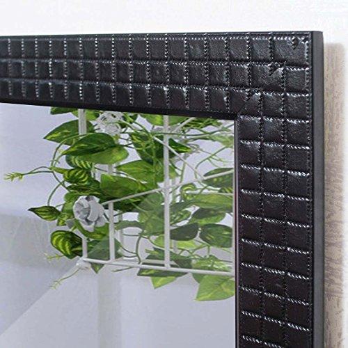 Art Street Marble black Wall Mirror (12 x 15 Inch)