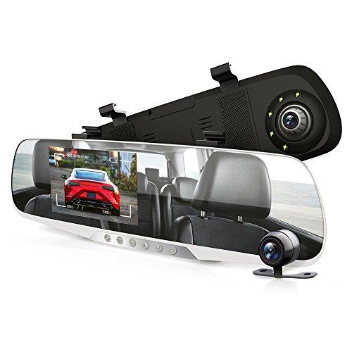 Pyle PLCMDVR46 - Monitor de visión trasera para cámara de salpicadero (4,3