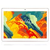 Tablette Tactile 10 Pouces BEISTA-(Android 9.0,4G Tablettes,64 Go ROM,WiFi,Quad Core,Full HD,Conception humanisée)-Blanc