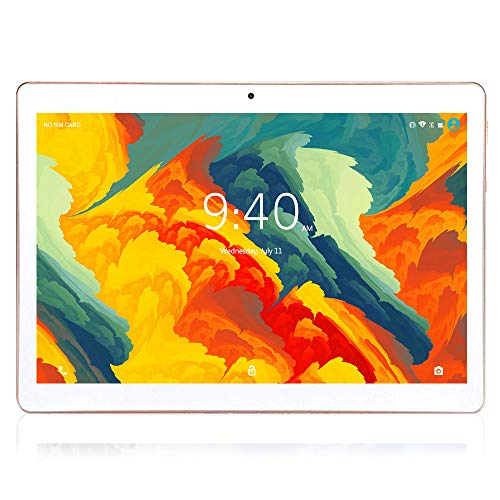 Tablet 10 Pollici 4G LTE WIFI BEISTA-Android 9.0 Tablets Full HD display,4GB RAM 64GB ROM,Doppia SIM,Quad-Core,Type-C,GPS,Bluetooth(Banco)