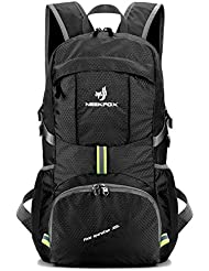 NEEKFOX Lightweight Packable Travel Hiking Backpack Daypack,35L Foldable Camping Backpack,Ultralight Outdoor Sport Backpack