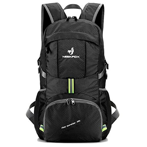 51IYyzGZVXL. SS500  - NEEKFOX Lightweight Packable Travel Hiking Backpack Daypack,35L Foldable Camping Backpack,Ultralight Outdoor Sport…