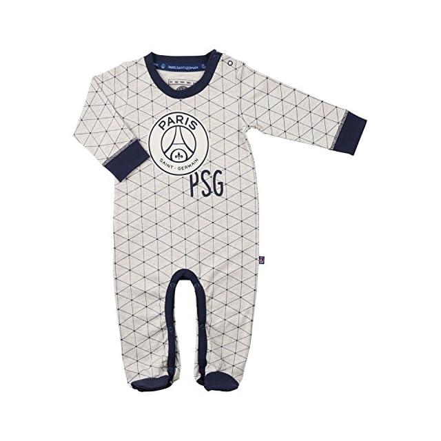 e8c53578bec125 PARIS SAINT GERMAIN Grenouillère bébé garçon PSG - Collection Officielle ...