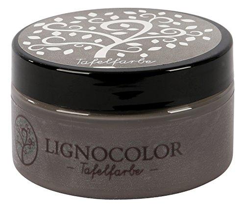 Lignocolor Tafelfarbe Tafellack echter Tafel-Look 100ml (Cement 02)