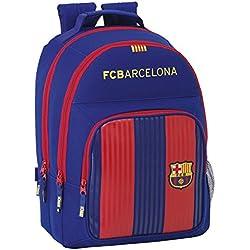 Safta Mochila F.C. Barcelona 1ª Equip. 16/17 Oficial Mochila Escolar, 320x160x420mm