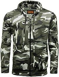 Mens Game Urban Camouflage Fleece Tracksuit | Hoodie | Zipper | Joggers