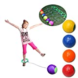 Bluelans Funny Children Kids Ankle Skip Ball Hop Jumping Playground Exercise Toy Game