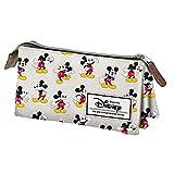 Mickey und seine Freunde–Federmäppchen Triple Vintage Original Design Mickey Mouse Disney