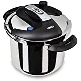 Tower Pro One Touch Pressure Cooker 6 Litre - Stainless Steel