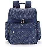 Diaper Bag For Boys And Girls Waterproof Material Insulation Pockets And Baby Cushioned Changing Mat Stroller Straps Suitable For Papa And Mama