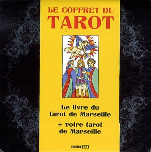 Le coffret du tarot : Le livre du tarot de Marseille + votre tarot de Marseille par Sidonie Gaucher