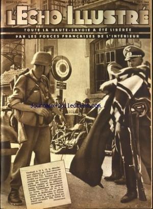 ECHO ILLUSTRE SUISSE (L') [No 35] du 26/08/1944