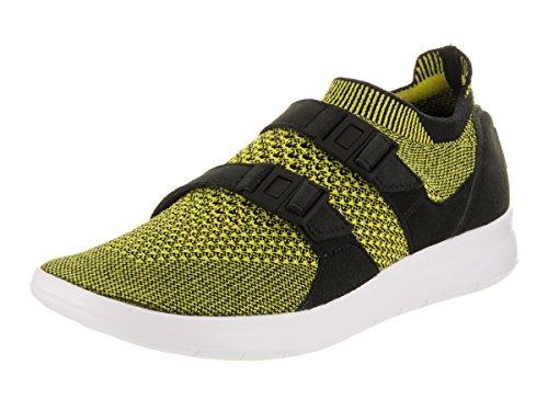 brand new a4b58 3a092 Zapatillas de running Nike para mujer Air Flyknit Flyknit negras   blancas  amarillas 5.5 Mujeres EE