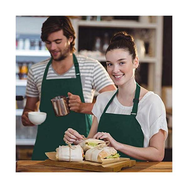 Viedouce 2 Pezzi Grembiule da Cucina Chef 81d160806399