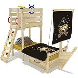 Kinderbett pirat bett junge m dchen bett schiff kinderzimmer spielzimmer baby - Abenteuerbett junge ...