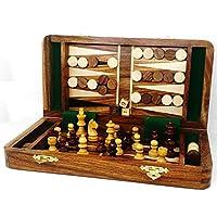RoyalChessMall-2-in-1-magnetisches-Reiseschach-und-Backgammon-Set-aus-goldenem-Rosenholz-25-cm