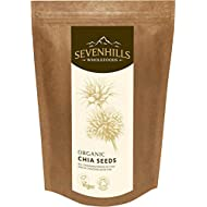 Sevenhills Wholefoods Organic Raw Chia Seeds 1kg
