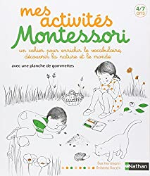 Mes activités Montessori