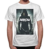 T-Shirt Uomo Arrow Freccia Verde Serie Tv -