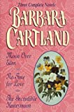 moon over eden no time for love the incredible honeymoon three complete novels barbara cartland by barbara cartland 1 feb 1998 hardcover