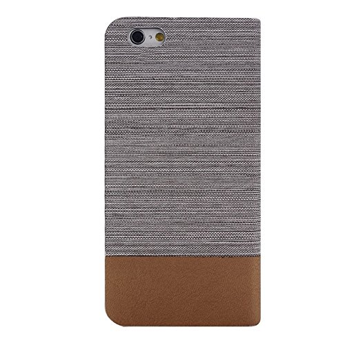 Phone case & Hülle Für IPhone 6 Plus / 6S Plus, Horizontal Flip Canvas Ledertasche mit Card Slot & Halter ( SKU : S-IP6P-0886E ) S-IP6P-0886B