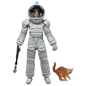 Aliens 7 Action Figure Series 4 Ripley (White Nostromo Spacesuit Version) by Neca 11