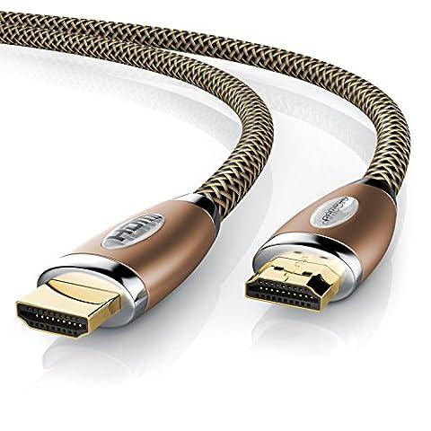 Lecteur Dvd Ps3 Slim - Primewire - 0,5m HDMI câble 4K Ultra