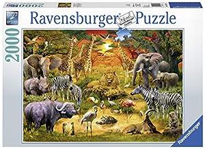 Ravensburger 00.016.702 Puzzle - Rompecabezas (Rompecabezas con Pistas Dibujadas, Flora & Fauna, Niños y Adultos, Niño/niña, 14 año(s), 980 mm)