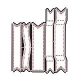DiyArts 8.5 * 10.4 cm Bandera Banner Muere Troquelado de Metal 2018 para Scrapbooking Álbum DIY Papel de Embossing Artesanía Diecuts Craft