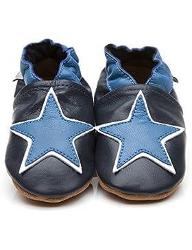 Weiche Leder Baby Schuhe Stern B