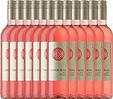 12er Vorteilspaket - White Zinfandel Rosé - Canyon Road | lieblicher Roséwein | amerikanischer Sommerwein aus Kalifornien | 12 x 0,75 Liter