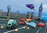 XXL Poster Fototapete Disney Cars 2 London Jagd Big Ben 160x115cm
