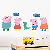 Sticker Expand Size:approx.(W) 70 centimetres x (H) 50 centimetres;Easy to Install. Just Peel and Stick on the Wall. Does not Harm the Walls.;Show your creativity by turning your wall into a beautiful work of art with wall art decals.;Simply apply th...