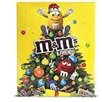 M&M's & Friends Calendrier de l'Avent Chocolat Noël – 361g